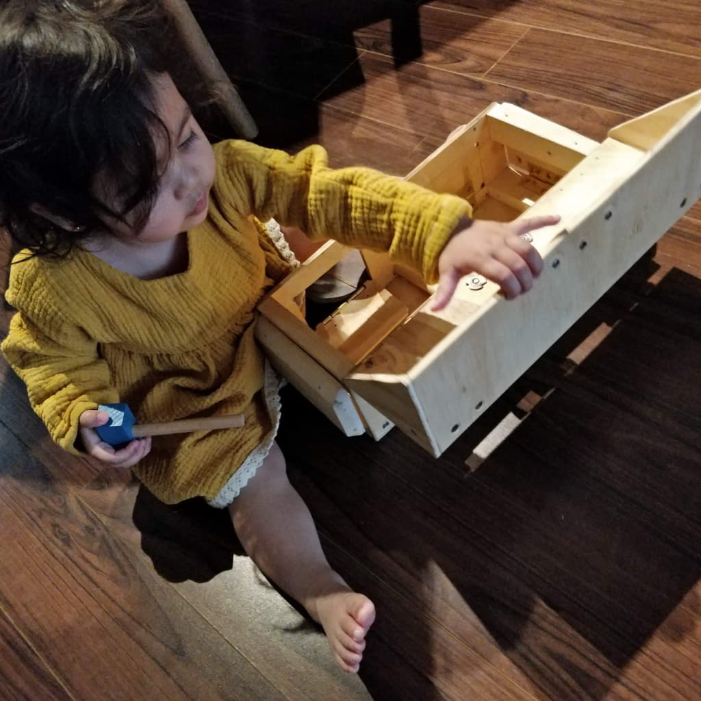 Testing the construction of the toolbox.