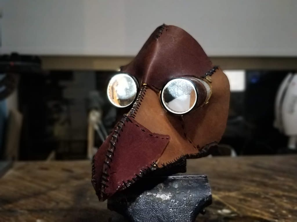 Plague Doctor Mask front