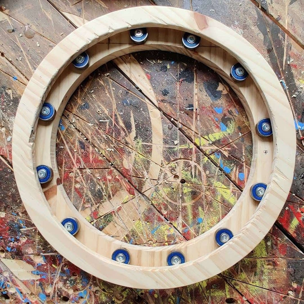 12x Beautiful SKF bearings in a ring