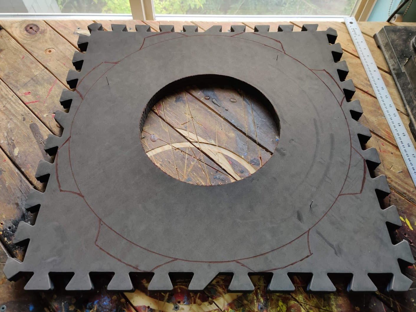 Tire side walls (2 sheets)