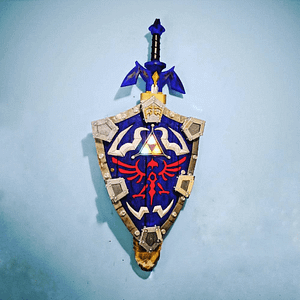 Link's Hylian Shield from Legend of Zelda