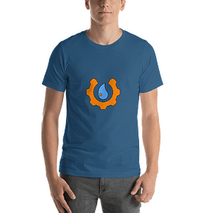 Short-Sleeve Unisex T-Shirt with DropBOB Logo