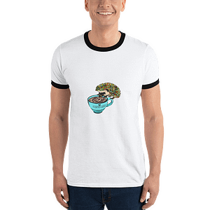 Ringer T-Shirt – Men's Espresso Hedgie