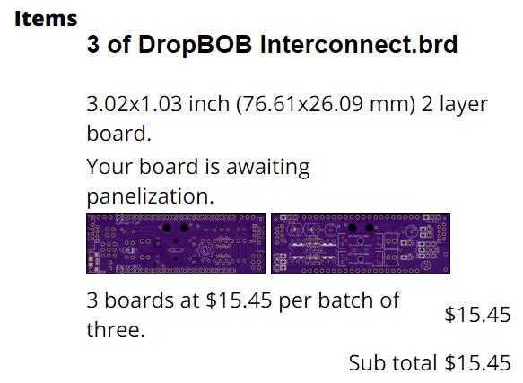 DropBOB Interconnect