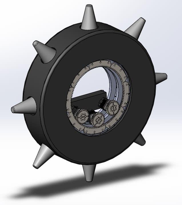 Final CAD design RipTire