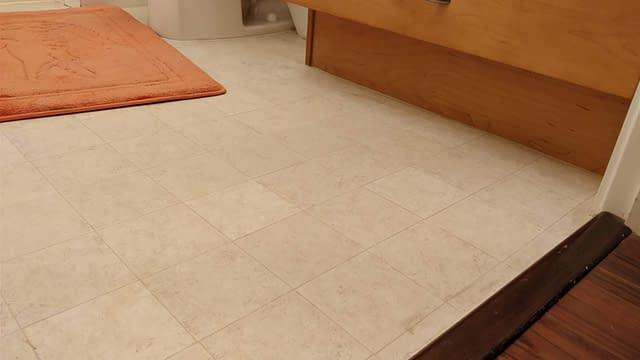linoleum floor sheet