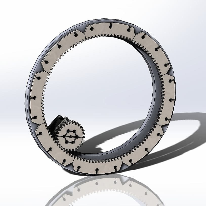 """the main drive gear. """"No, this is not the StarGate"""""""